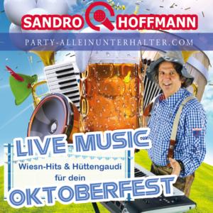 Musiker für Oktoberfest - Alleinunterhalter Sandro Hoffmann